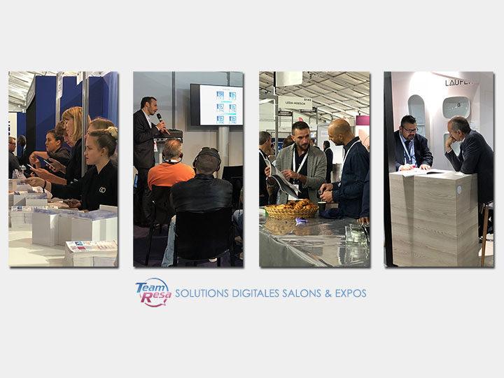 Solutions digitales TeamResa Salons, Expos & Manifestions !