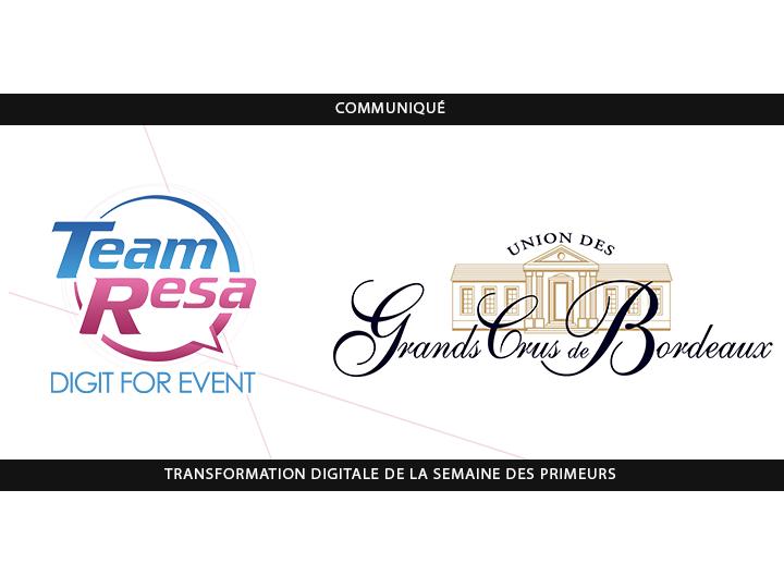 Transformation digitale de la Semaine des Primeurs – TeamResa / Union Des Grands Crus de Bordeaux