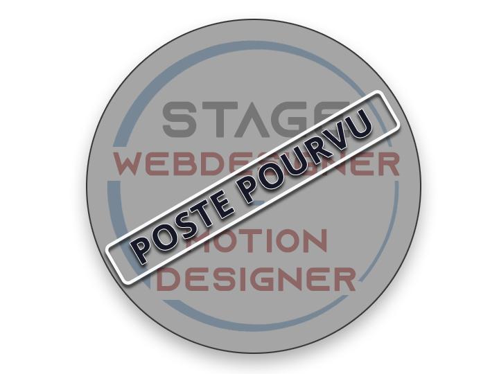 OFFRE DE STAGE WEBDESIGNER / MOTION DESIGNER (H/F)